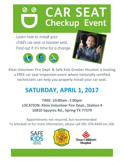 Car Seat Checkup Event