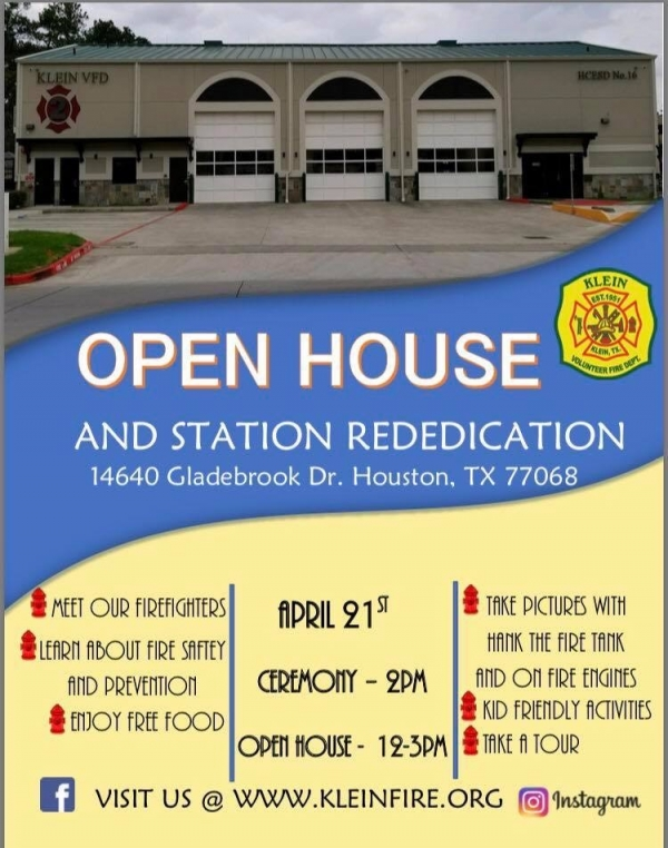 Station 2 Open House and Rededication