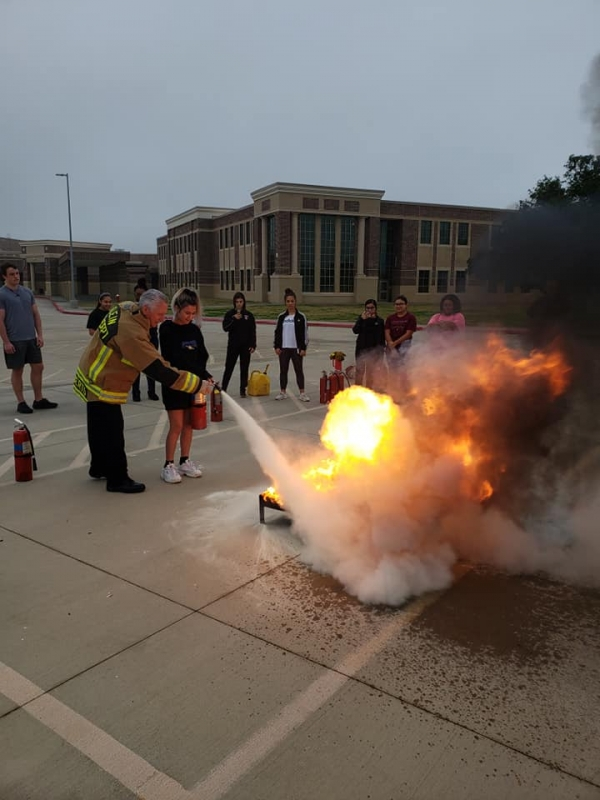 Fire Extinguisher Class at Klein Cain